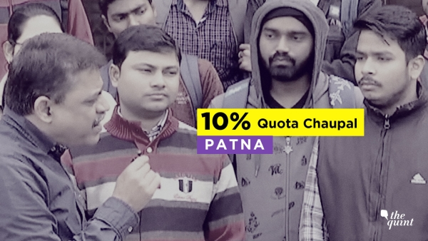 The Quint's Chaupal reaches Patna.