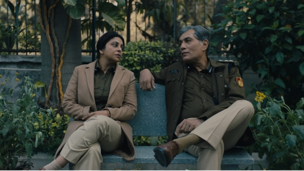 A still from <i>Delhi Crime</i>.