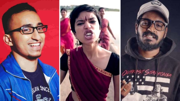 Brodha V, Sofia Ashraf, and Emmiway Bantai are taking the Indian rap scene to another level.