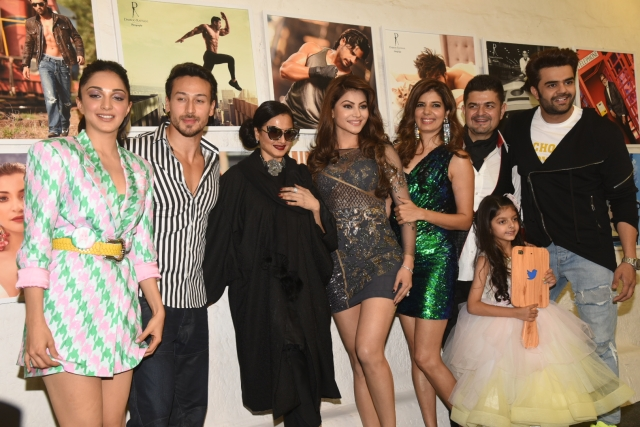 Kiara Advani, Tiger Shroff, Rekha, Urvashi Rautela at the event.