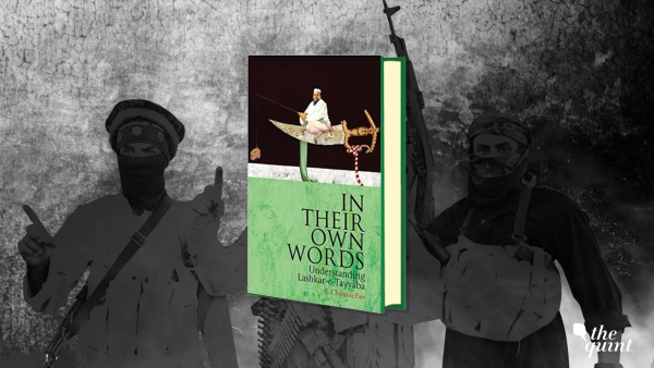Image of the book cover, and militants used for representational purposes.