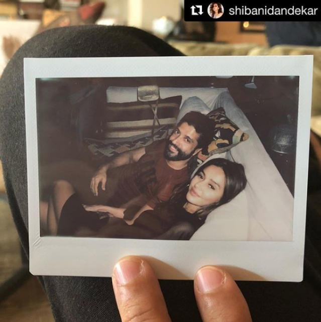 Farhan and Shibani Dandekar have been sharing their pics on Instagram.
