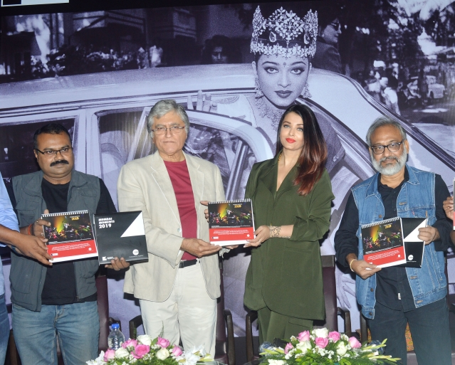 Aishwarya Rai releases a calendar for 2019 at the event.