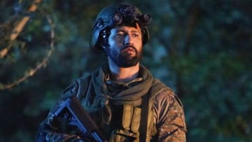 Vicky Kaushal in a still from <i>Uri: The Surgical Strike</i>.