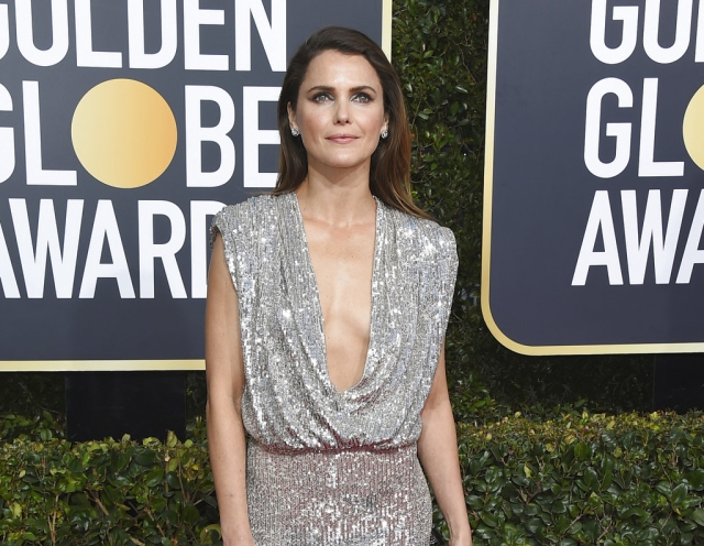 Keri Russell looks as stunning as ever.