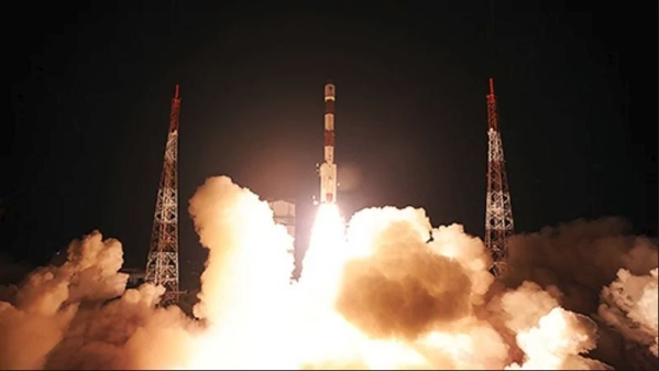 The PSLV-C44 rocket on the launchpad in Sriharikota. (Image used for representational purpose only.)