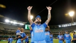 Captain Virat Kohli acknowledges the crowd after India's 2-1 ODI series victory in Australia, sealed with a seven-wicket win at Melbourne.