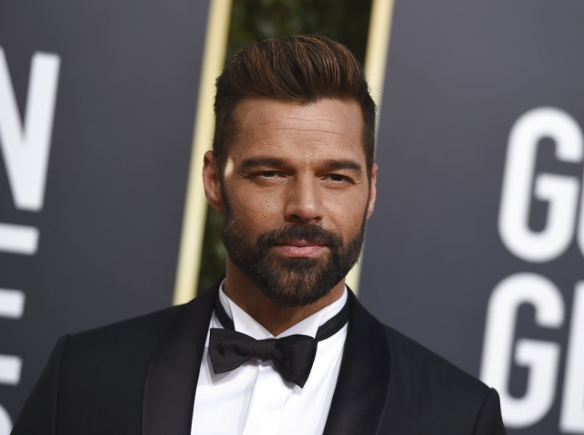Ricky Martin in the house.