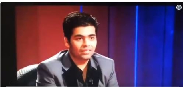 Karan offended? Why?