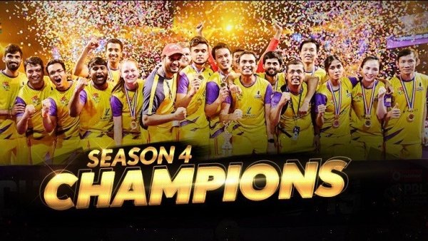 Bengaluru Raptors edged the Mumbai Rockets 4-3 to win their maiden Premier Badminton League title on Sunday, 13 January.