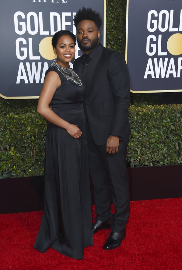 Ryan Coogler (right) and Zinzi Evans make black beautiful.