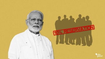 The Union Cabinet on Monday, 7 January, approved a 10 percent reservation for economically weaker sections among the upper castes.