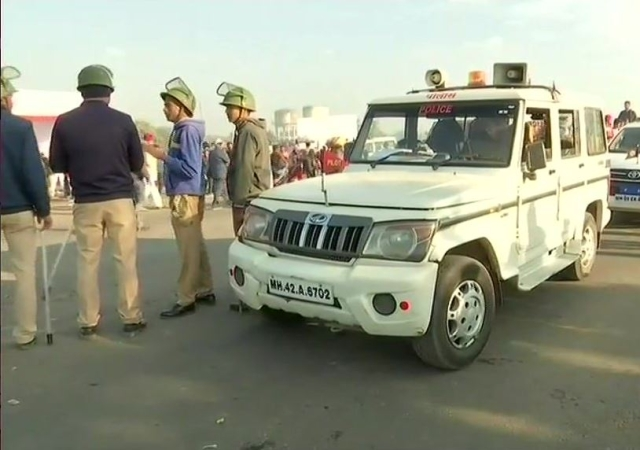 Security tightened in Bhima Koregaon on the 201st anniversary of the Bhima Koregaon battle