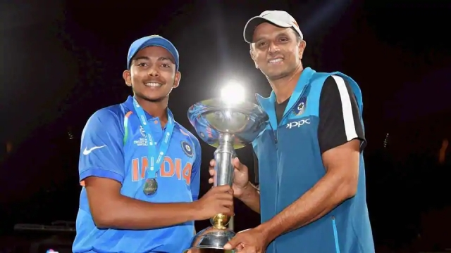 Rahul Dravid was coach of the Indian team which won the ICC Under-19 World Cup 2018 in New Zealand.
