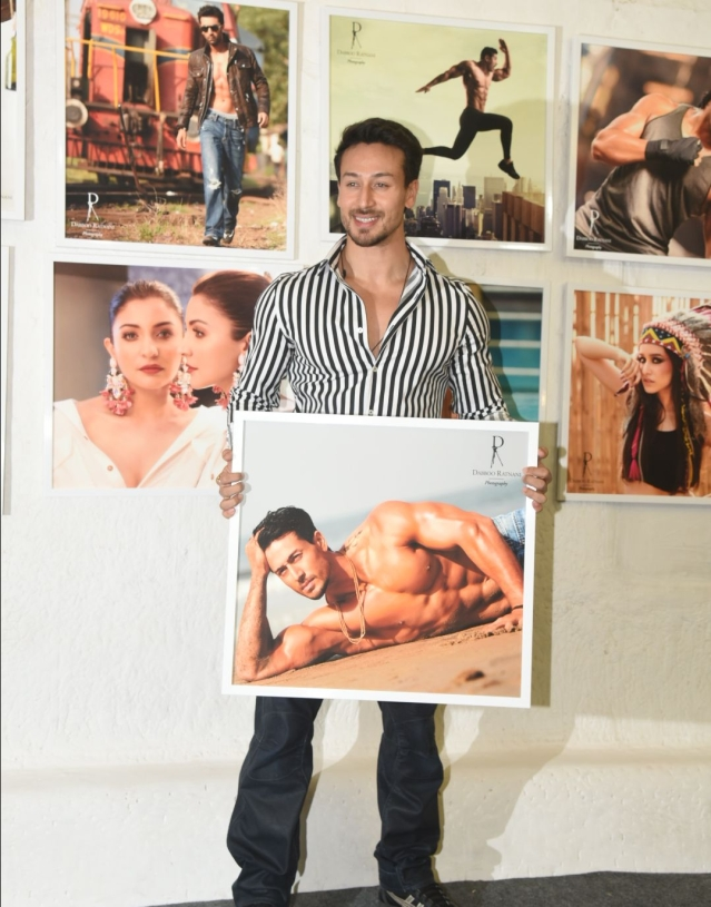 Tiger Shroff strikes a pose.