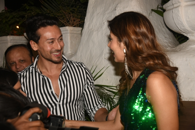 Tiger Shroff with Manisha Ratnani.