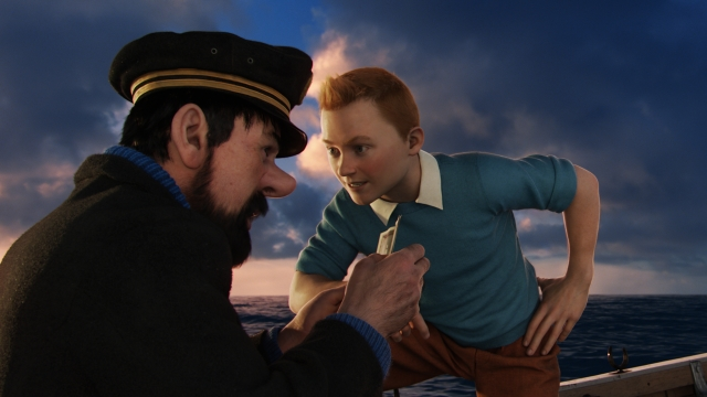 A still from <i>The Adventures of Tintin.</i>