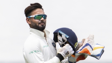 Rishabh Pant became the first Indian wicketkeeper to score a Test century in Australia on Day 2 of the Sydney Test.