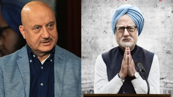 Anupam Kher talks about playing Dr Manmohan Singh in <i>The Accidental Prime Minister.</i>