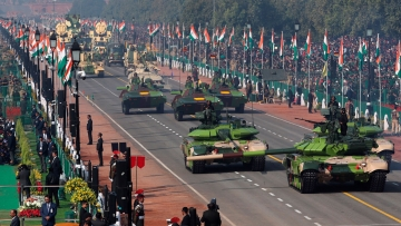 Catch all the live updates from India's Republic Day celebrations here.