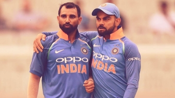Shami became the fastest Indian to reach 100 ODI wickets (56 matches) in the first ODI against New Zealand in Napier.