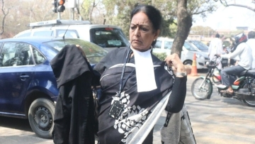 Nalini Chidambaram, senior advocate and wife of P Chidambaram.