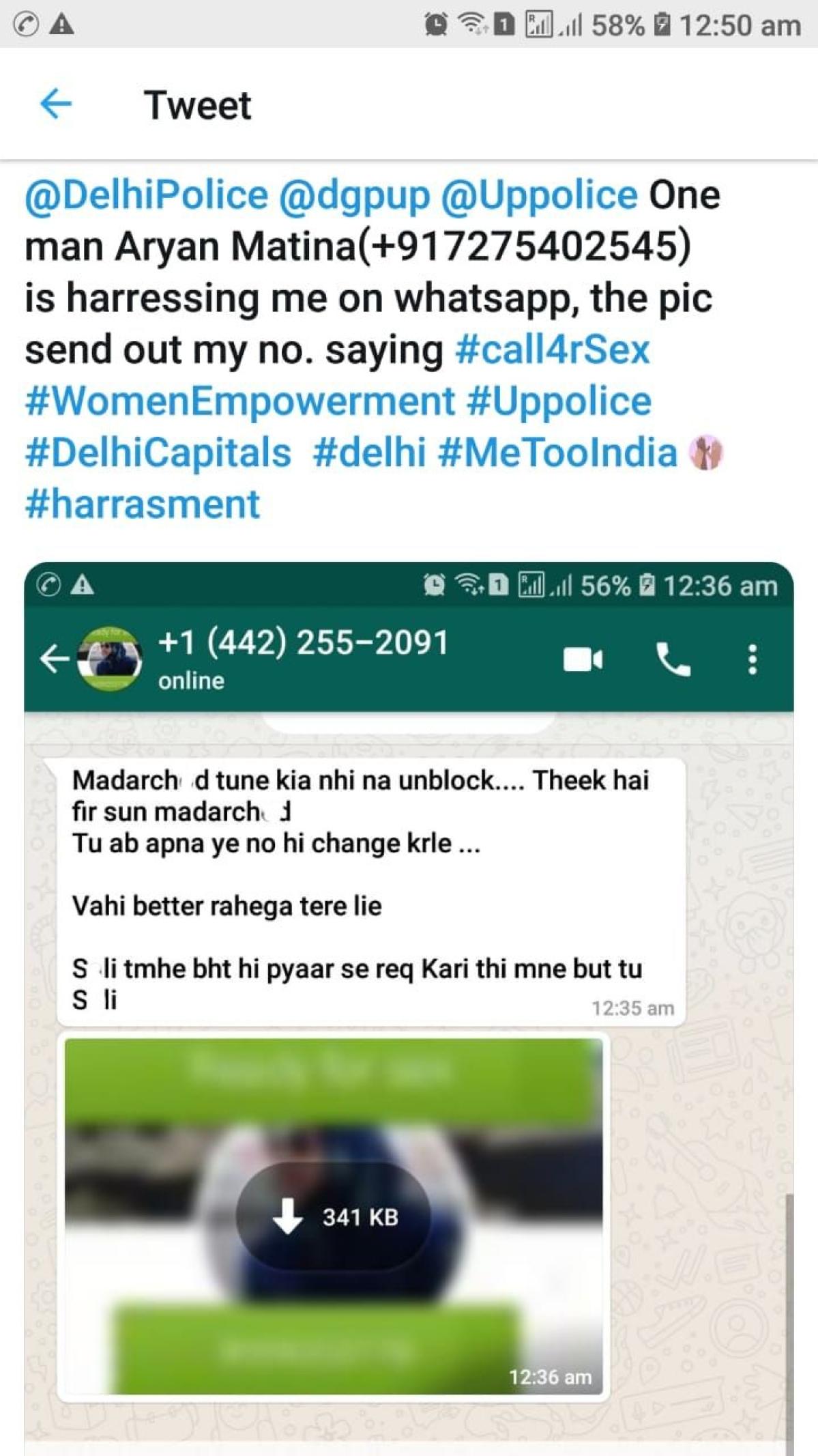 whatsapp sex number