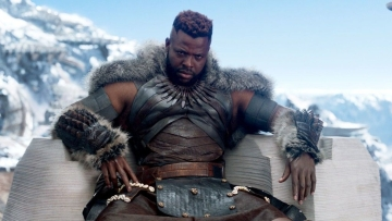 Image of Winston Duke, who played the role of M'Bake in Black Panther, used for representation.