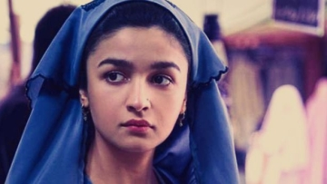 Alia Bhatt in a still from the movie 'Raazi'.