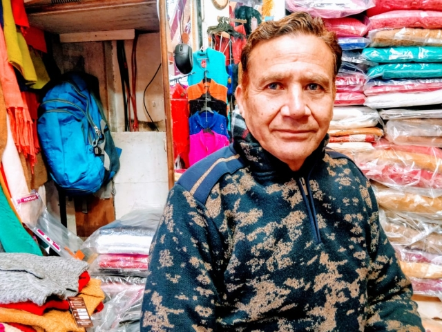Vimal Gupta was the president of the Purani Mandi market then and now. Despite having a face-to-face conversation with then Chief Minister Farooq Abdullah he has seen no justice in thirty years.