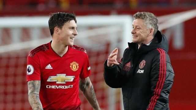 Solskjaer has put his faith in Victor Lindelof, who started the first 10 games under the new boss.
