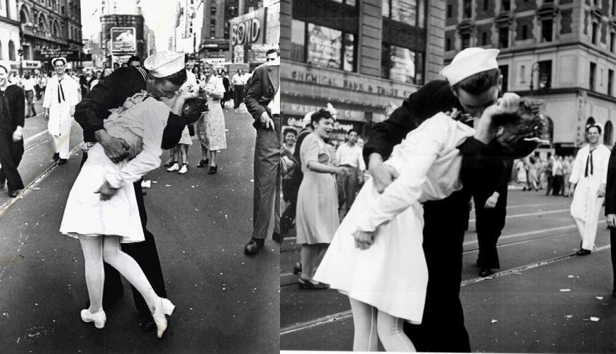 George Mendonsa, 'Kissing Sailor' From WW II Photo, Dies at 95
