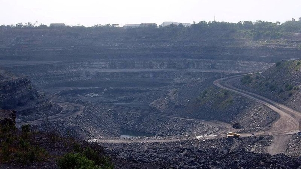 A coal mine in Dhanbad, India.
