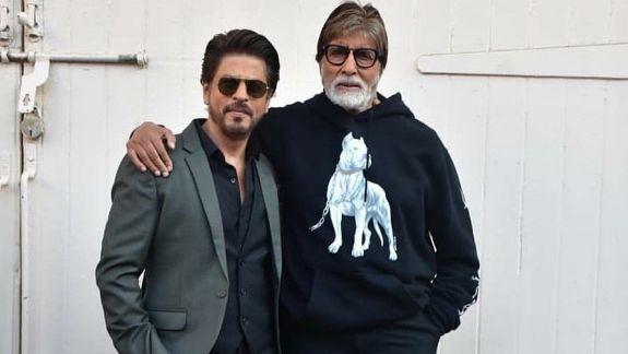 SRK, Amitabh Bachchan to Shoot a Video for 'Badla'