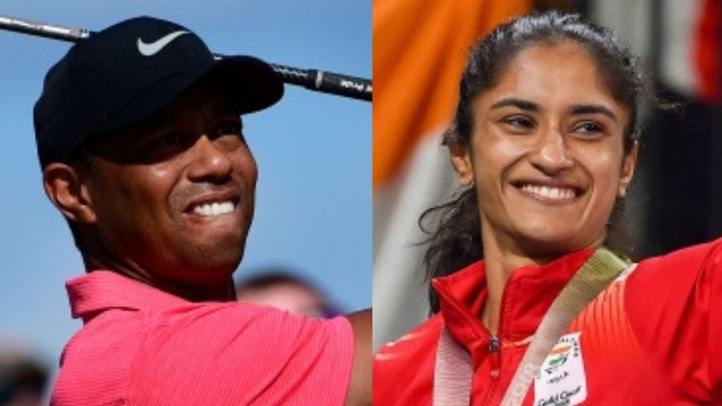 Tiger Woods Pips Phogat, Wins Laureus 'Comeback of the Year' Award