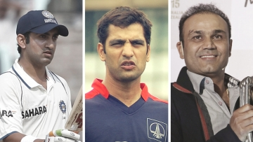 Sehwag and Gambhir took to Twitter to show their support for Amit Bhandari.