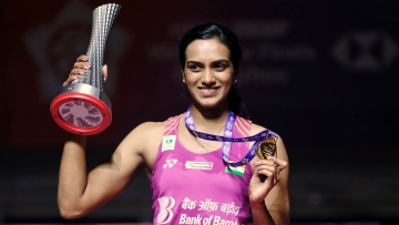 PV Sindhu has signed a whopping four-year sports sponsorship deal in the tune of Rs 50 crore with Chinese sports brand Li Ning.