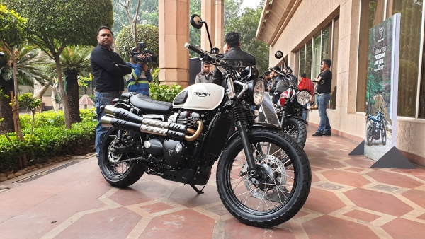 Triumph Street Scrambler and Bonneville bike owners in India, this is for you.