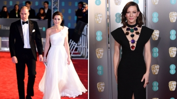 Check out all the red carpet looks from BAFTA.