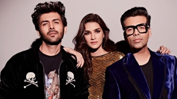Kartik Aaryan and Kriti Sanon recently made their debut on <i>Koffee With Karan</i>.