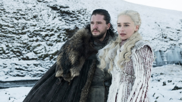 Jon Snow and Daenerys Targaryen.