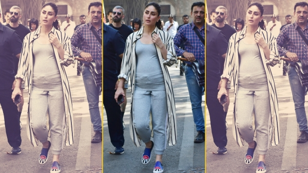 Kareena Kapoor on the sets of <i>Good News</i>.