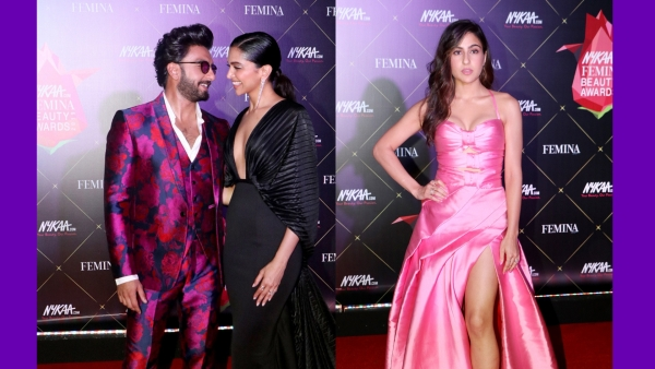 Ranveer, Deepika and Sara Ali Khan Celebrate Beauty In Bollywood