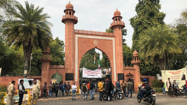 AMU Prof Booked Over Post on J&K, Hindu Mahasabha Filed Complaint