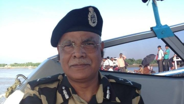 BSF Chief Rajni Kant Mishra.