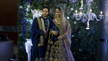 Saina Nehwal married fellow badminton player Parupalli Kashyap in December.