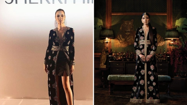 DietSabya Calls out Sherri Hill for Copying  Sabyasachi Mukherjee