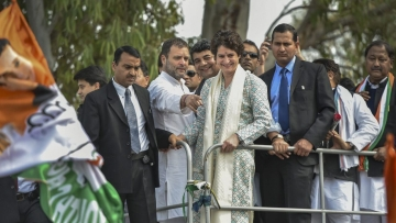 Newly appointed Congress general secretary in-charge of eastern Uttar Pradesh Priyanka Gandhi started her four-day visit to Lucknow on Monday, 11 February.