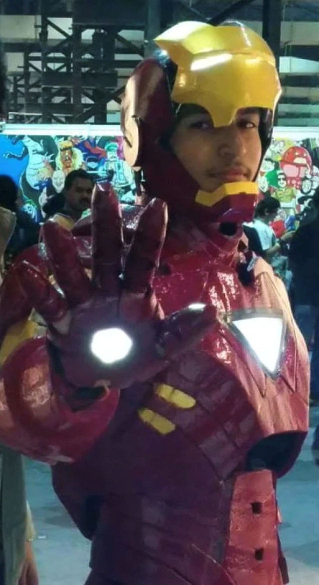 Indian Cosplayer Ankit Singh, aka 'India's first Iron Man'