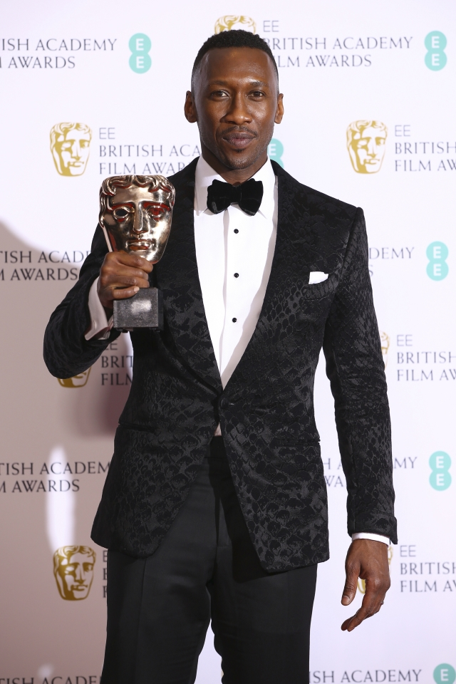 Twitter is ecstatic over Mahershala Ali's win at BAFTA for Best Supporting Actor.